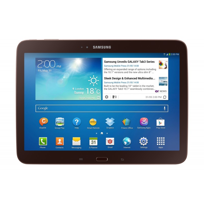 Планшет Samsung GALAXY Tab 3 3G 16Gb Brown GT-P5200
