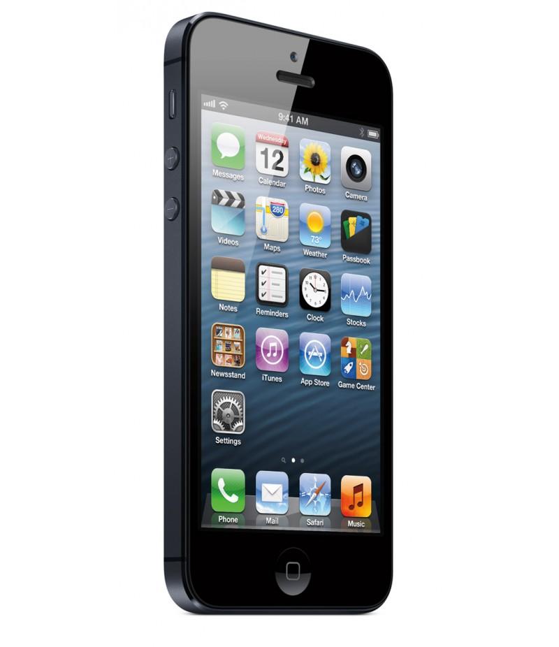 Apple iPhone 5 16Gb Black + Защитная пленка + Чехол Jison Leather