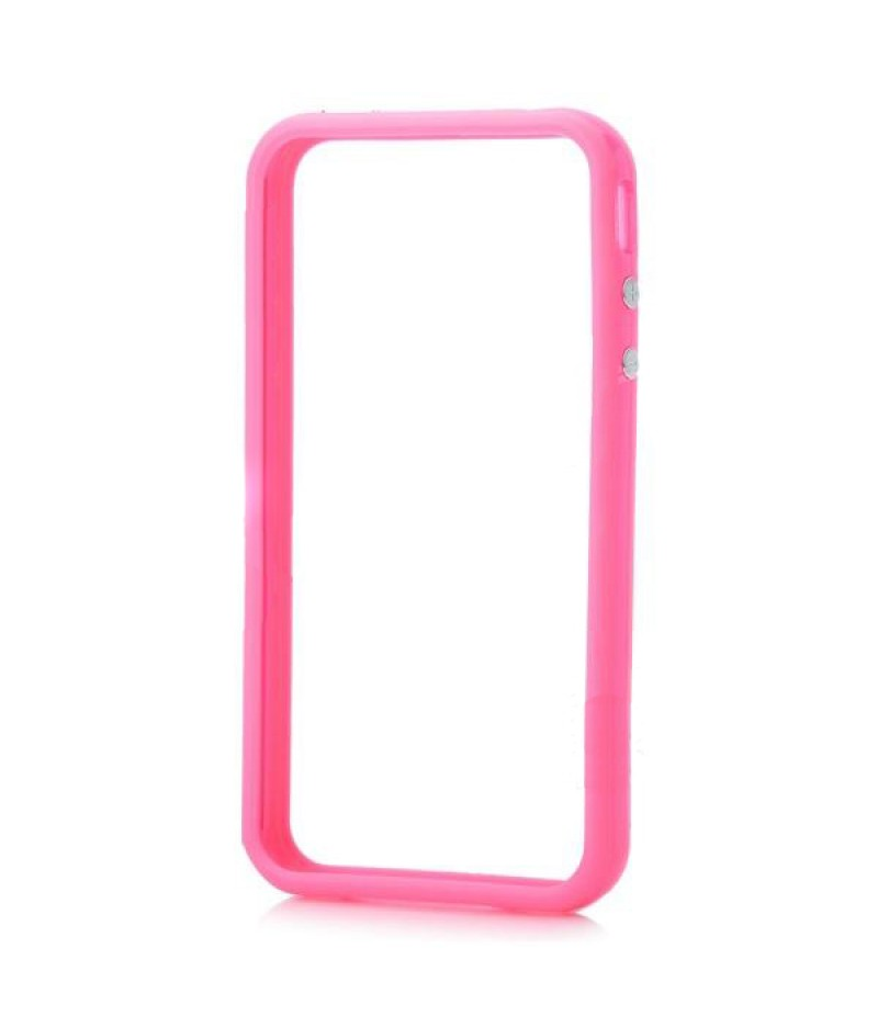 Чехол для iPhone 5/5S Deppa Bumper Pink