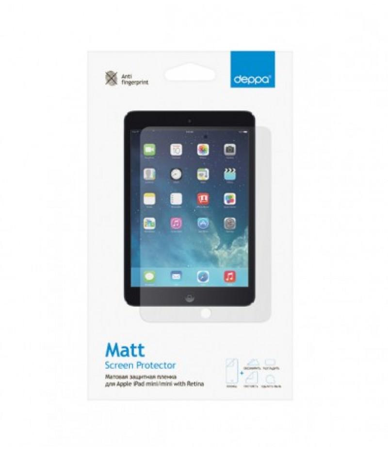 Защитная пленка для iPad mini Deppa Matt (матовая)