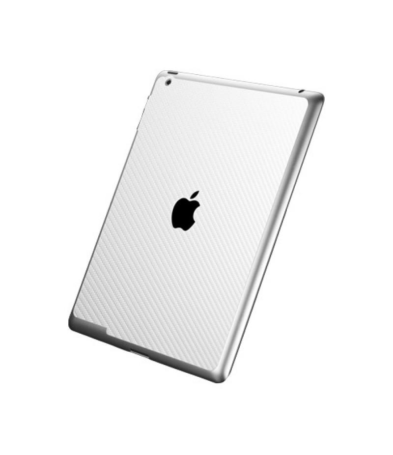 Защитная пленка для iPad 3/4 SGP Cover Skin Premium Carbon White