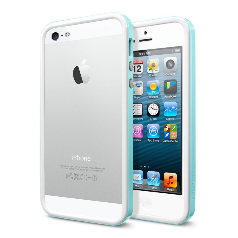 Чехол для iPhone 5/5S SGP Neo Hybrid EX Slim Snow Mint
