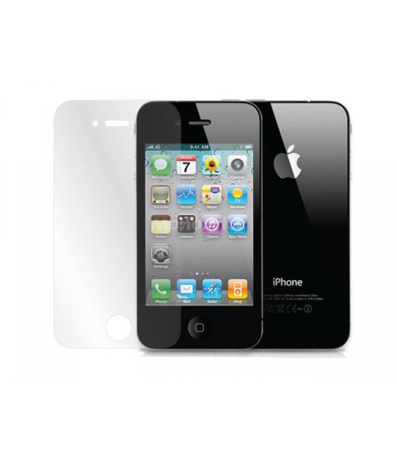 Защитная пленка  для iPhone 4/4S Monoprice Screen Protective Film w/High Transparency Finish