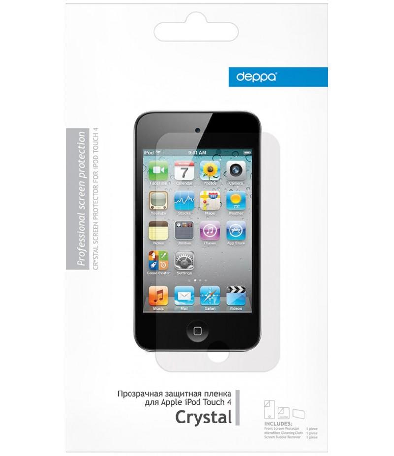 Защитная пленка для iPod touch 4G Deppa Crystal