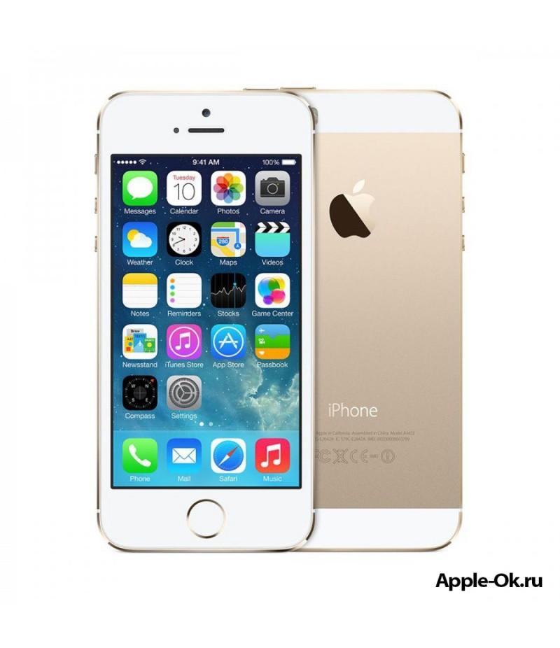 Apple iPhone 5S 16Gb Gold (A1533) + Автокомплект