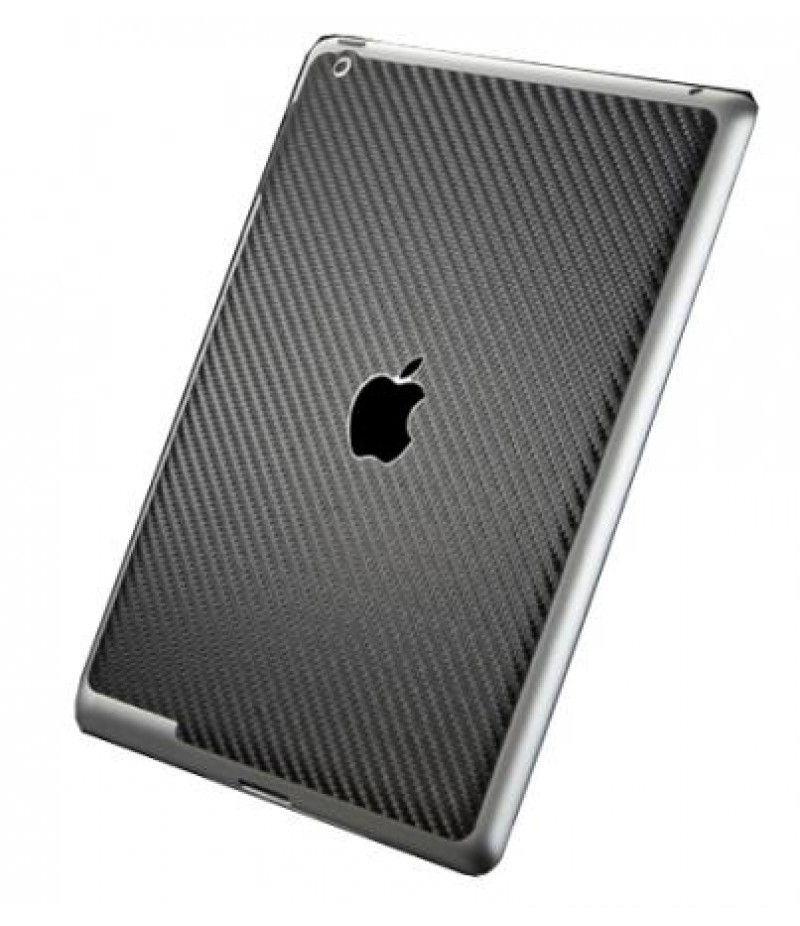 Защитная пленка для iPad 3/4 SGP Cover Skin Carbon