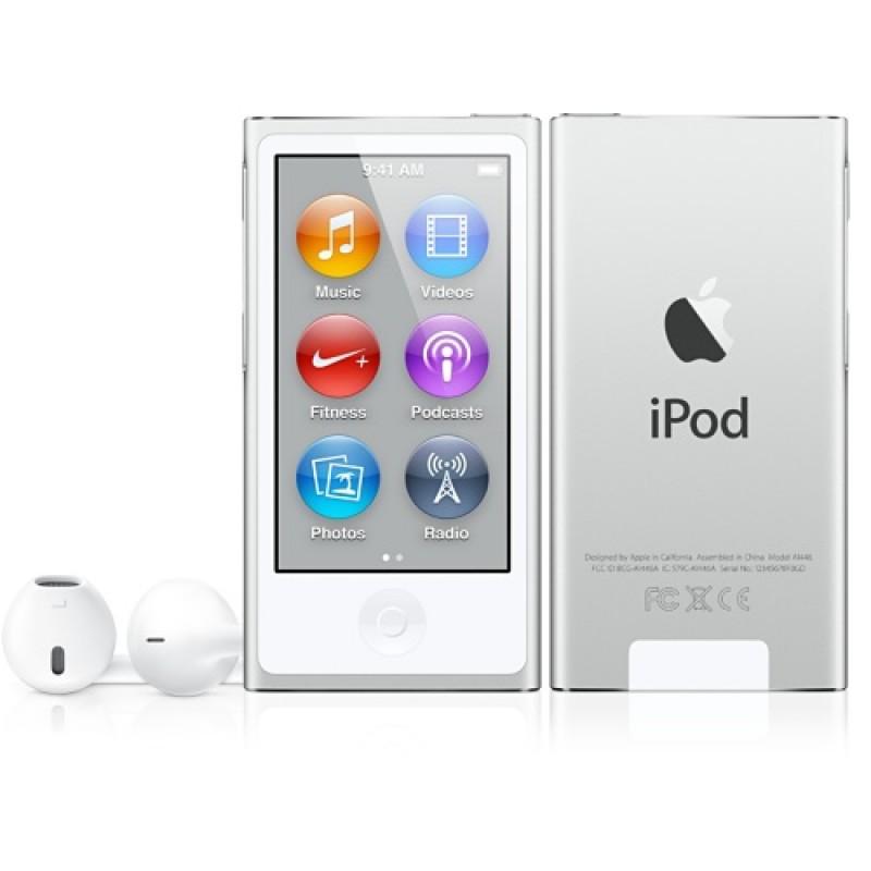 Мультимедиа плеер Apple iPod nano 7G 16GB Silver