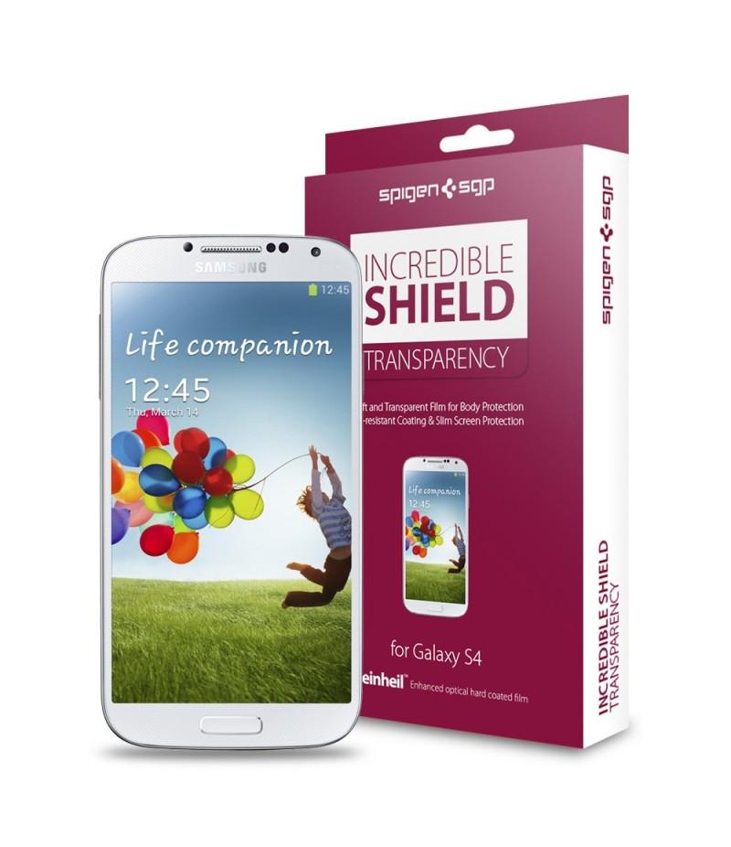 Защитная пленка Screen & Body Protector Incredible Shield Transparency для Galaxy S4
