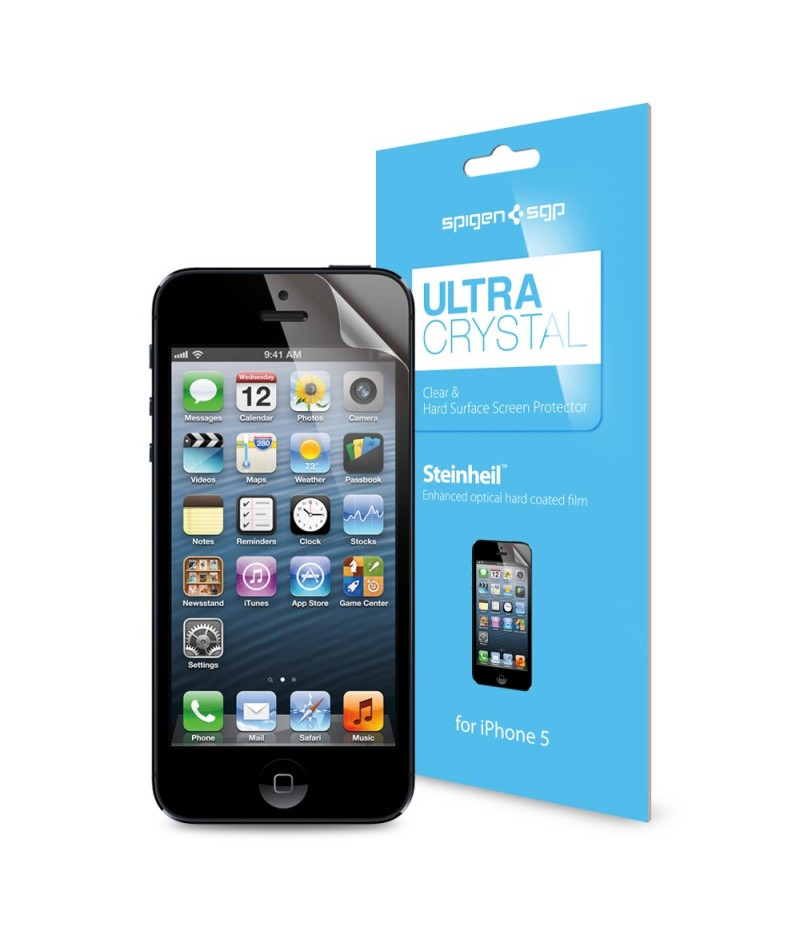 Защитная пленка для iPhone 5/5S SGP Steinheil Ultra Crystal