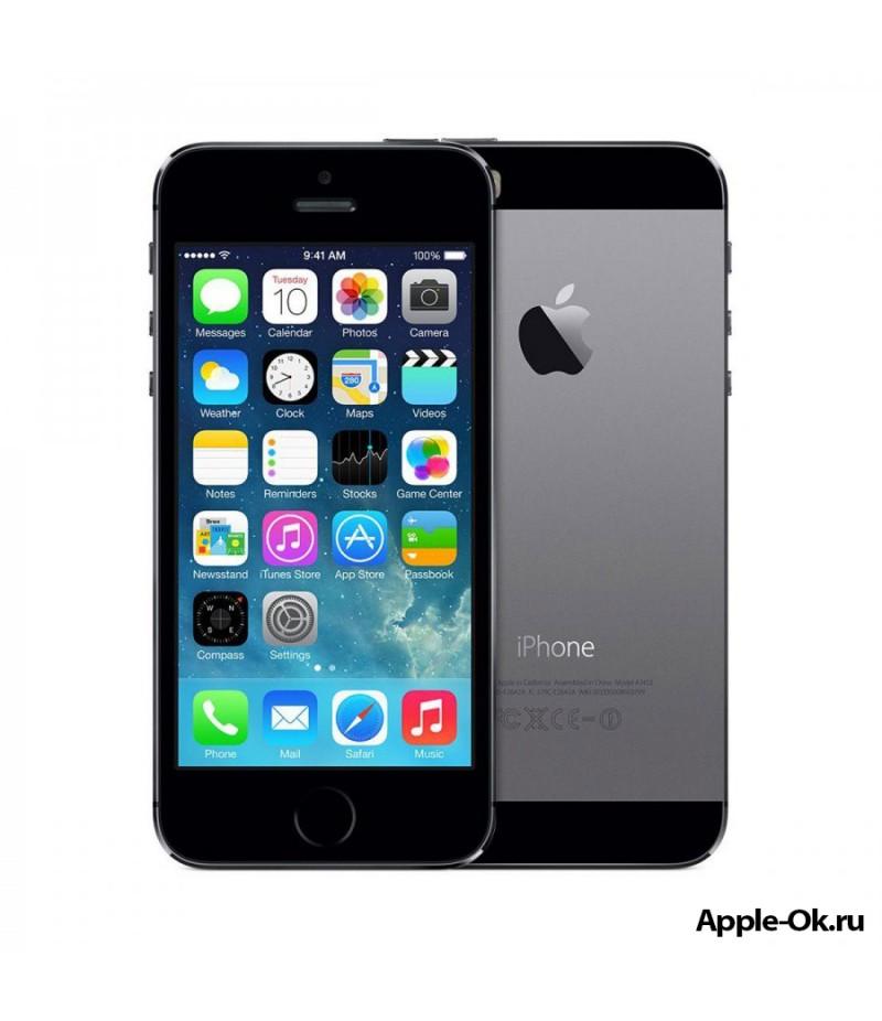Apple iPhone 5S 16Gb Gray (A1530) + Автокомплект