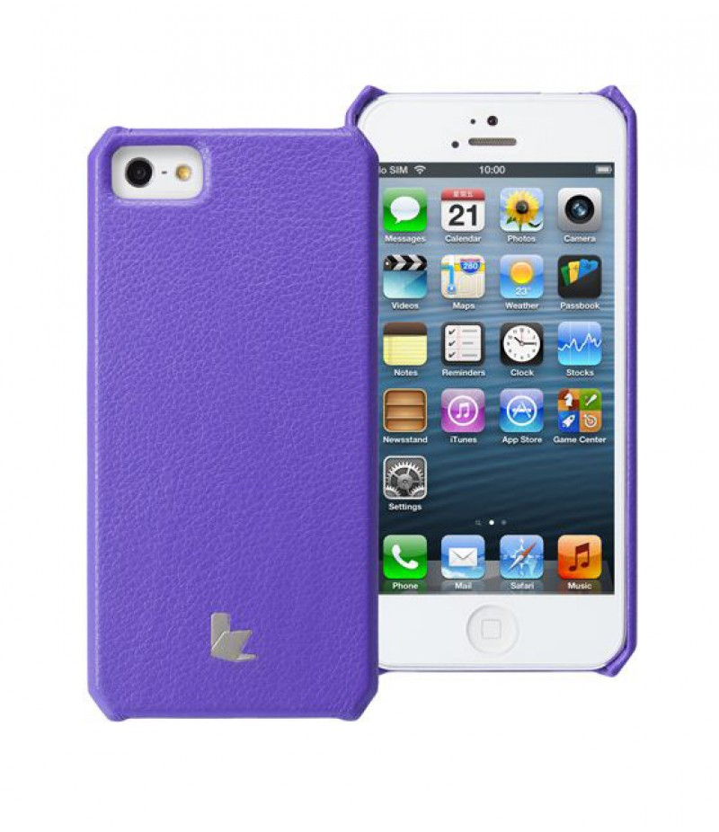 Чехол для iPhone 5/5S Jison Wallet Purple