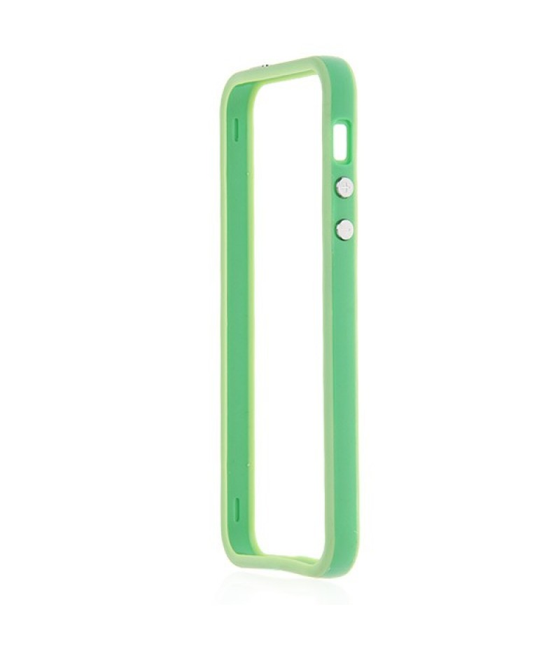 Чехол для iPhone 5/5S Deppa Bumper Green