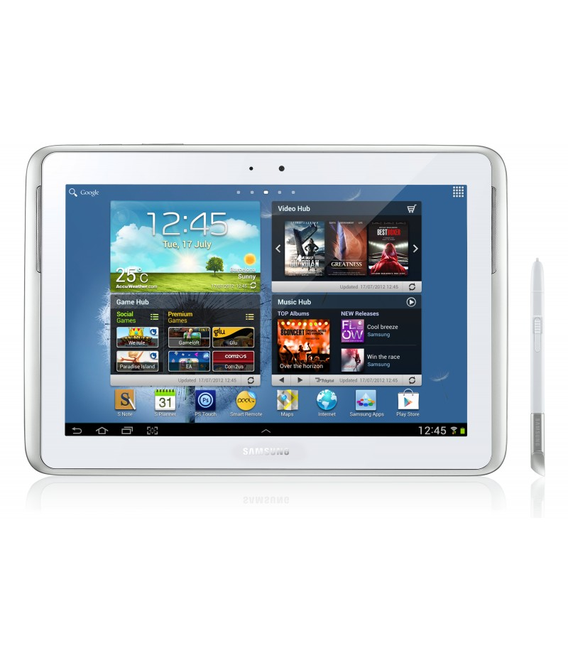 Планшет Samsung Galaxy Note 10.1 16Gb 3G White SM-N8000 +Bluetooth HM 3200