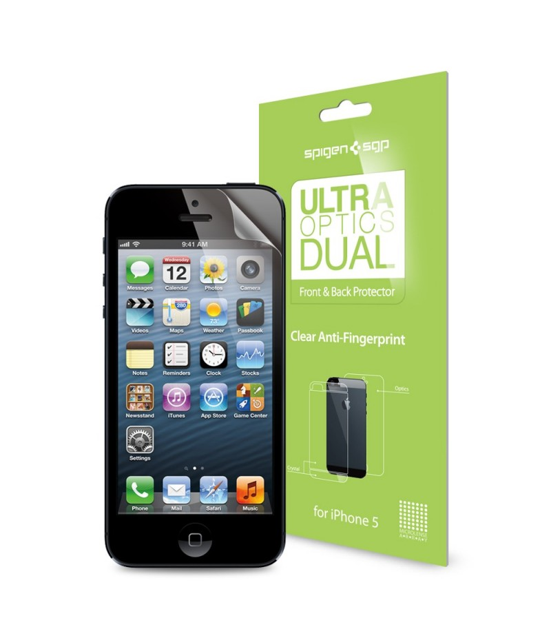 Защитная пленка для iPhone 5/5S SGP Steinheil Dual Ultra Optics