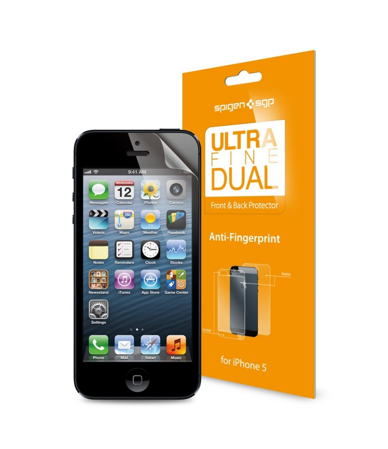 Защитная пленка для iPhone 5/5S SGP Steinheil Dual Ultra Fine