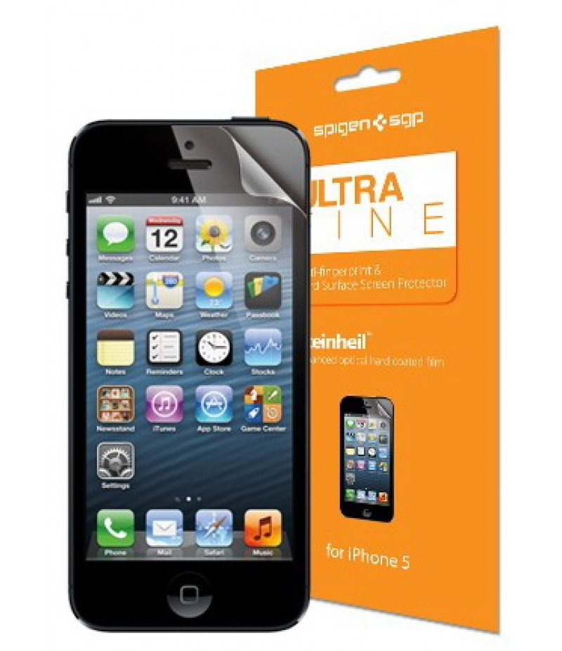 Защитная пленка для iPhone 5/5S SGP Steinheil Ultra Fine