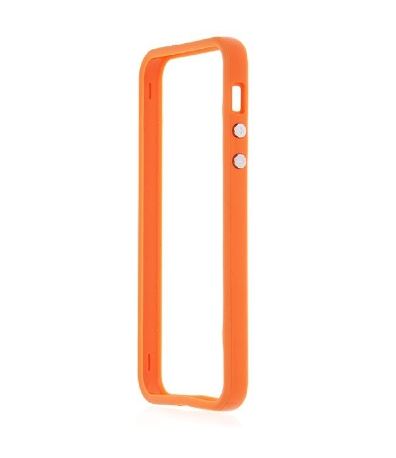 Чехол для iPhone 5/5S Deppa Bumper Orange