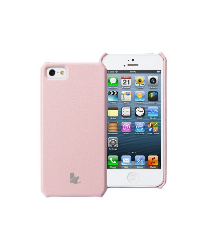 Чехол для iPhone 5/5S Jison Wallet Soft Pink