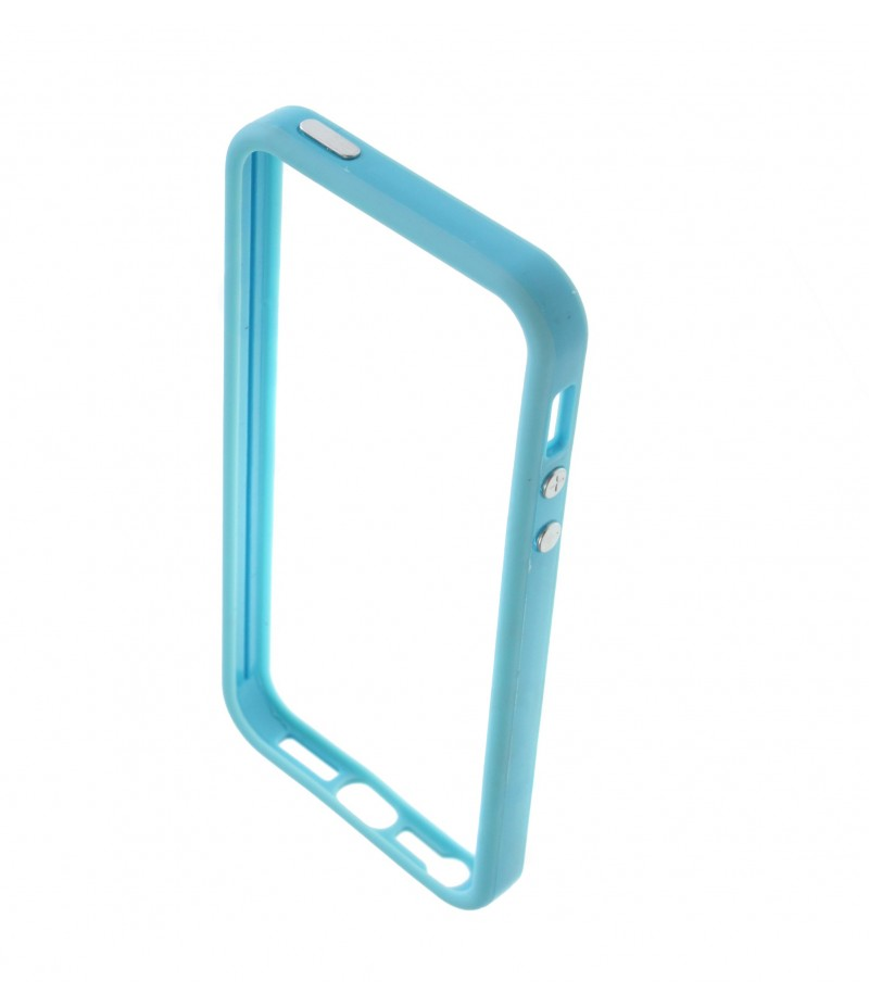 Чехол для iPhone 5/5S Deppa Bumper Blue