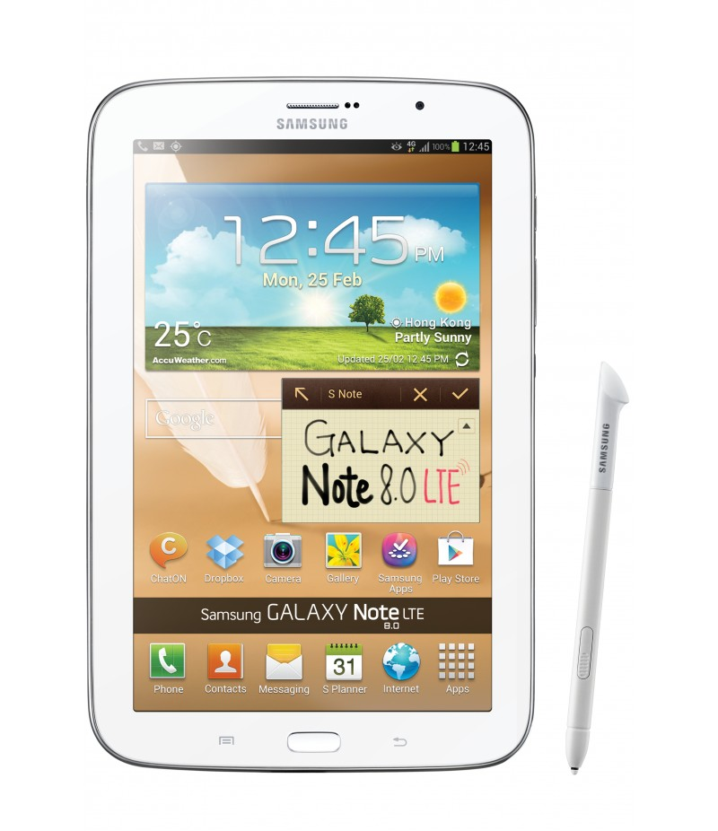 Планшет Samsung Galaxy Note 8.0 16Gb LTE White GT-N5120