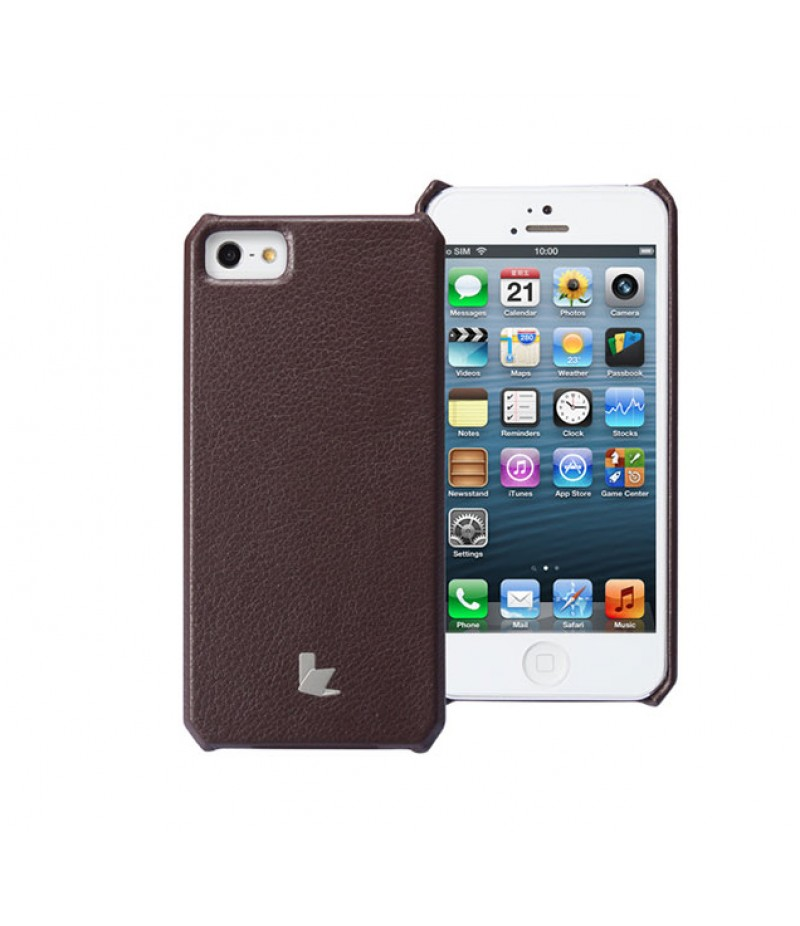 Чехол для iPhone 5/5S Jison Wallet Dark Brown