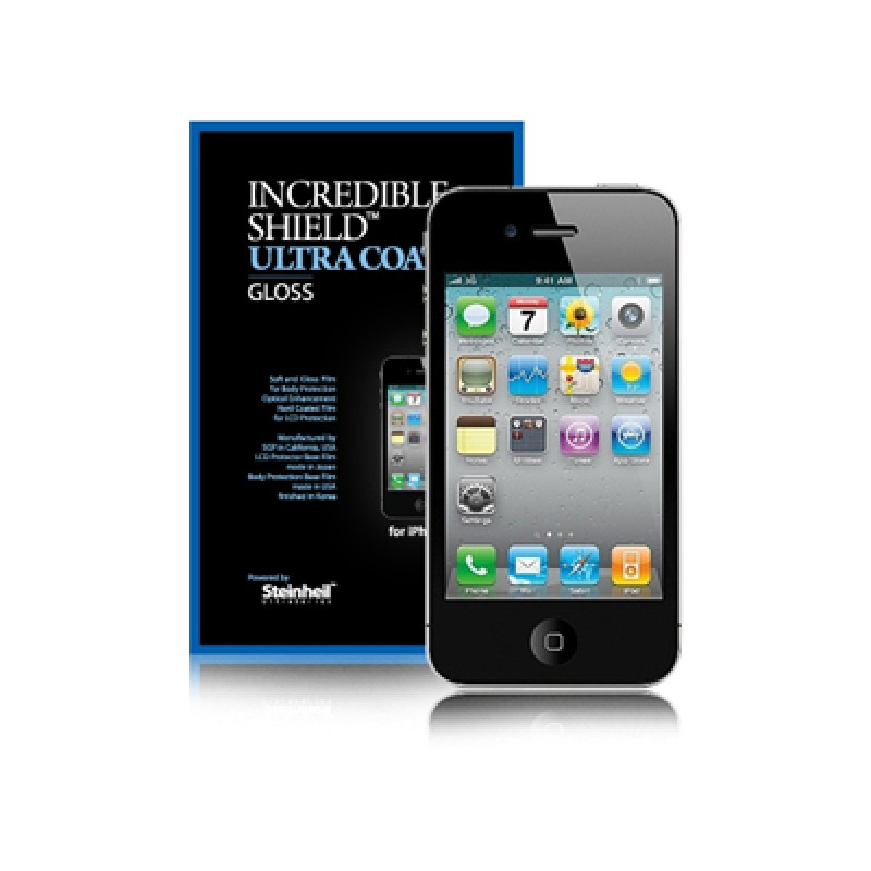 Защитная пленка для iPhone 4/4S SGP IIncredible Shield Ultra Coat Gloss