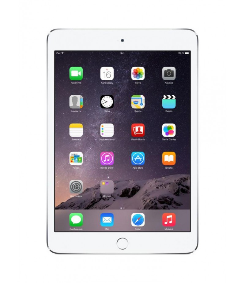 Apple iPad mini 3 Wi-Fi + Cellular 128GB Silver