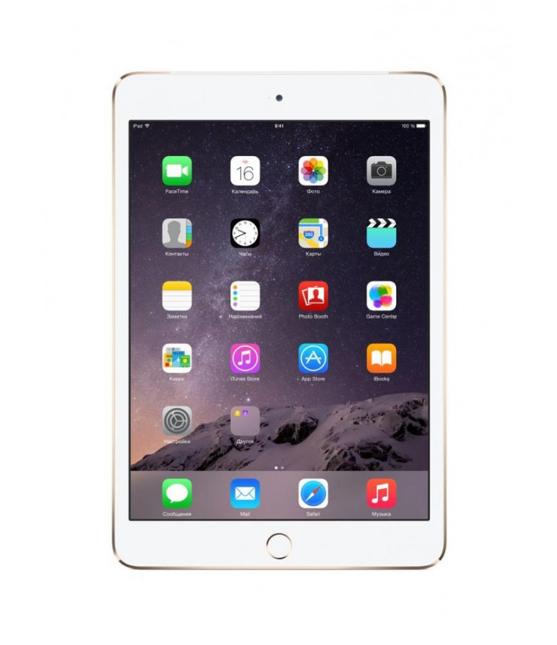 Apple iPad mini 3 Wi-Fi + Cellular 16GB Gold