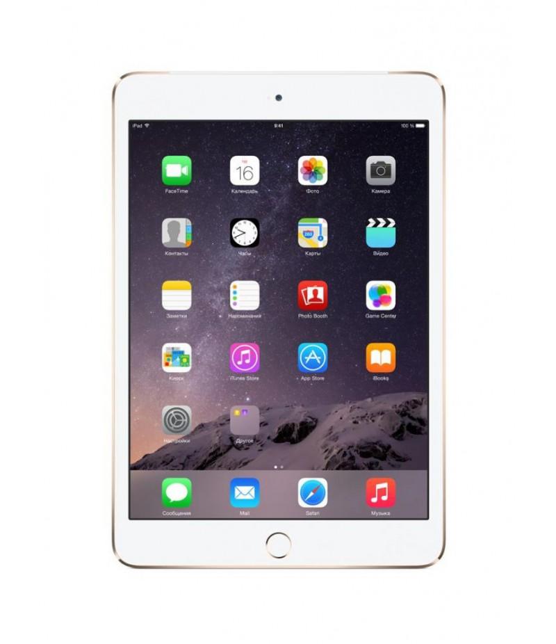 Apple iPad mini 3 Wi-Fi + Cellular 16GB Gold