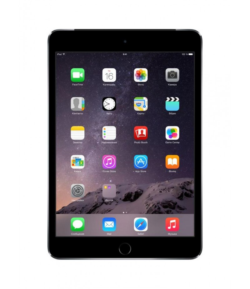 Apple iPad mini 3 Wi-Fi + Cellular 64GB Space Gray