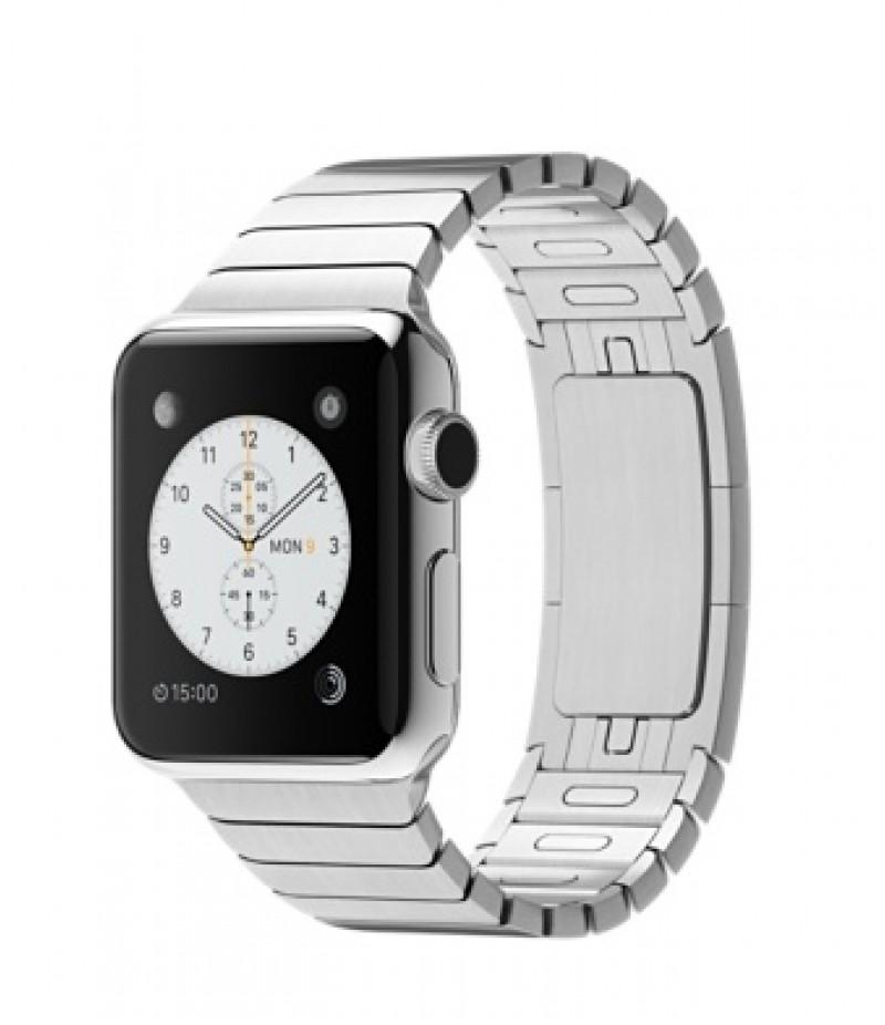 Apple Watch 38мм Stainless Steel Блочный браслет