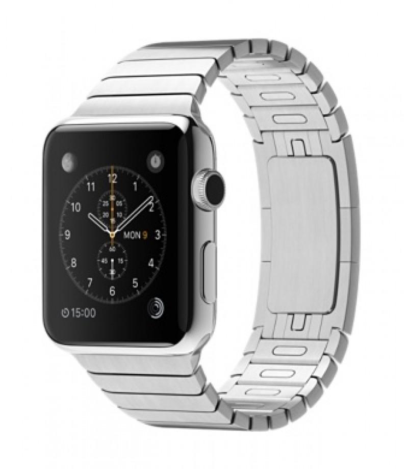 Apple Watch 42мм Stainless Steel Блочный браслет